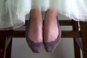 Sling Back Socks (No Show)